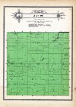 Township 27 Range 16, Francis, Holt County 1915